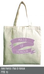 Maid Of honour cotton tote
