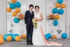 Mr. & Mrs. on stage