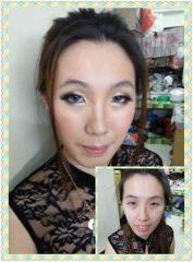 Dinner Makeup-Before & After
