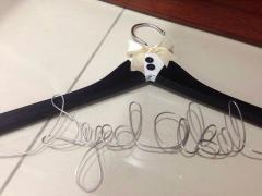 Customized hanger